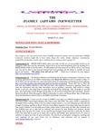 Family Affairs Newsletter 2014-03-15