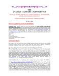 Family Affairs Newsletter 2014-06-01