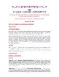 Family Affairs Newsletter 2014-08-15