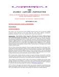 Family Affairs Newsletter 2014-09-15