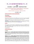 Family Affairs Newsletter 2014-10-15 by Zack Paakkonen