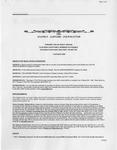 Family Affairs Newsletter 2005-10-01
