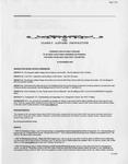 Family Affairs Newsletter 2005-11-15