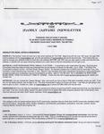 Family Affairs Newsletter 2006-07-01