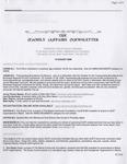 Family Affairs Newsletter 2006-08-15