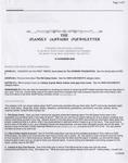 Family Affairs Newsletter 2006-11-15