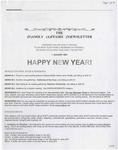 Family Affairs Newsletter 2007-01-01