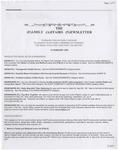 Family Affairs Newsletter 2007-02-15