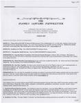 Family Affairs Newsletter 2007-03-01