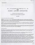 Family Affairs Newsletter 2007-05-01
