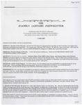 Family Affairs Newsletter 2007-06-01