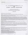 Family Affairs Newsletter 2007-08-01