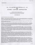 Family Affairs Newsletter 2007-09-01