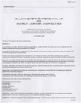 Family Affairs Newsletter 2007-10-01