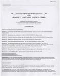 Family Affairs Newsletter 2007-11-01