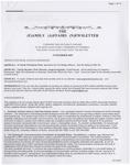 Family Affairs Newsletter 2007-12-15