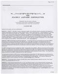 Family Affairs Newsletter 2008-01-15