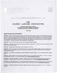 Family Affairs Newsletter 2008-05-15