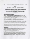 Family Affairs Newsletter 2008-12-15