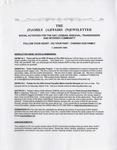 Family Affairs Newsletter 2009-01-01