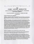 Family Affairs Newsletter 2009-01-15