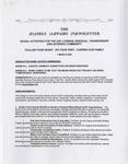 Family Affairs Newsletter 2009-03-01