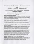 Family Affairs Newsletter 2009-05-15