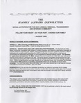 Family Affairs Newsletter 2009-08-01