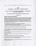 Family Affairs Newsletter 2009-10-01