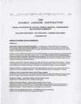 Family Affairs Newsletter 2009-12-01