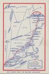 Way to Maine Chance Farm Postcard