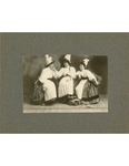 Three Members of the Cast of Les Cloches de Corneville by Unknown