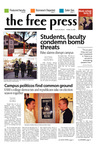 The Free Press Vol. 38, Issue 5, 10-16-2006