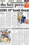 The Free Press Vol. 39, Issue No. 1, 09-04-2007