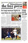 The Free Press Vol. 39, Issue No. 6, 10-22-2007