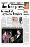The Free Press Vol. 39, Issue No. 9, 11-12-2007