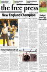 The Free Press Vol. 39, Issue No. 16, 03-03-2008