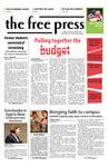 The Free Press Vol. 39, Issue No. 22, 04-28-2008