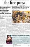 The Free Press Vol. 40, Issue No. 1, 09-01-2008