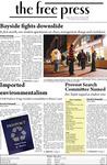 The Free Press Vol. 40, Issue No. 5, 10-06-2008