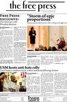 The Free Press Vol. 40, Issue No. 10, 12-01-2008