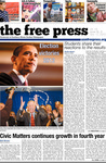 The Free Press Vol 44 Issue 9, 11-12-2012