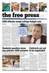 The Free Press Vol 44 Issue 12, 01-21-2013