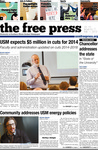 The Free Press Vol 44 Issue 17, 03-11-2013