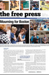 The Free Press Vol 44 Issue 21, 04-22-2013