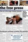 The Free Press Vol 46 Issue 13, 01-19-2015
