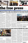 The Free Press Vol. 47, Issue No. 09, 11-09-2015