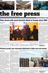 The Free Press Vol. 47, Issue No. 10, 11-16-2015