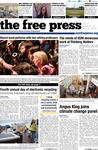 The Free Press Vol. 47, Issue No. 21, 04-25-2016