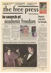The Free Press Vol. 39, Issue No. 10, 11-12-2007